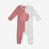 Two Tone Summer Baby onsie