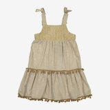 Lorca Linen Sleeveless Dress