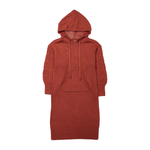 Hooded Ines Knit Dress