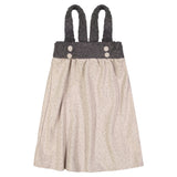 Manchester Bow Pinafore Dress