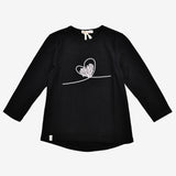 Swinging Heart 3/4 Sleeve Tee