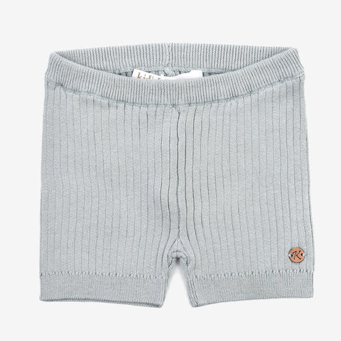 Ribbed Fitted Baby Shorts