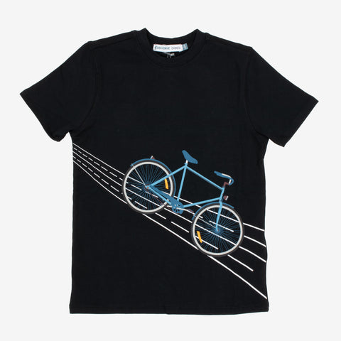 Boys Bike Print T-Shirt