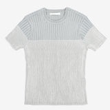 Boys Knit Rib Short Sleeve Shirt