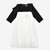 Marbella Pleated Chiffon Dress
