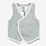 Tripoli Boys Tweed Vest