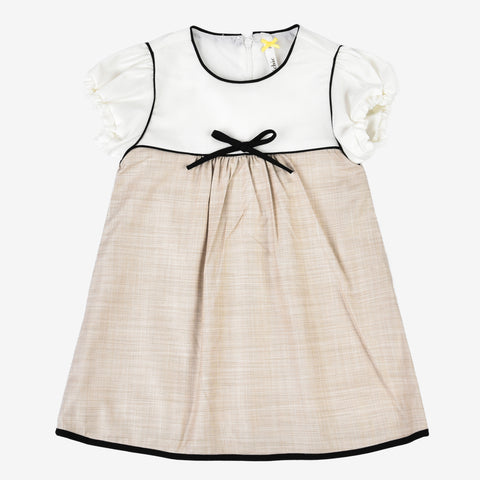 Mini Girls Piping Dress