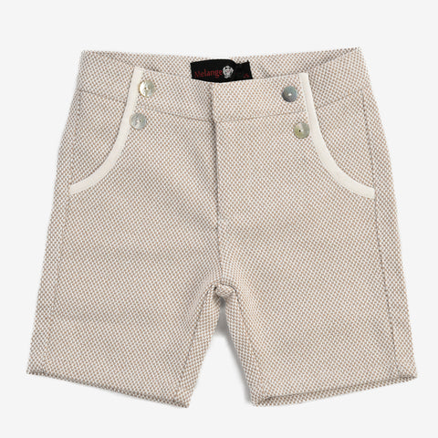 Tripoli Boys Tweed Shorts