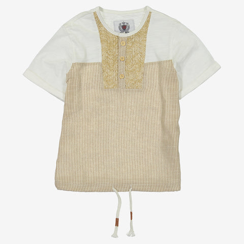 Lorca Linen Boys Top