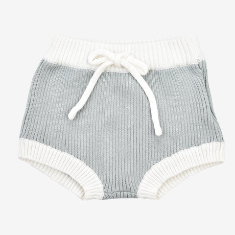Hadas Ribbed Knit Colorblock Bloomers
