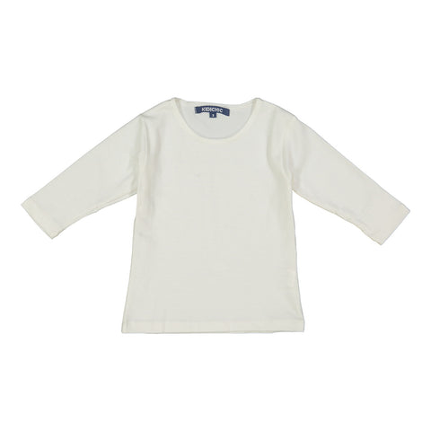 3/4 Sleeve Cotton Shell