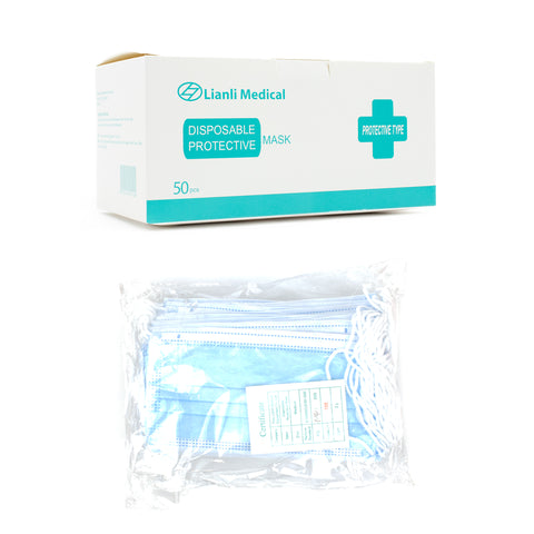 3-Ply Disposable Protective Face Mask