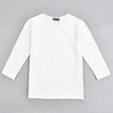 Basic 3/4 Sleeve Shell Cotton