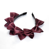 Pleather Bows Headband