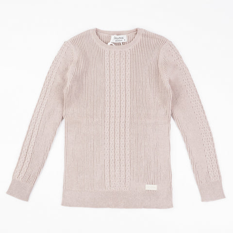 Wells Boys Braid Sweater