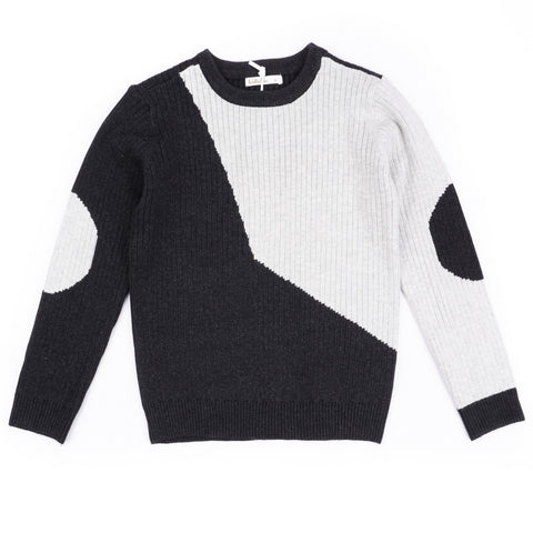 Geometric Boys knit Top