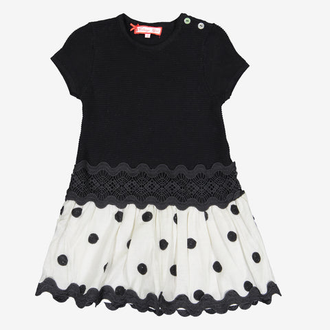 Little Girls Crochet Dress