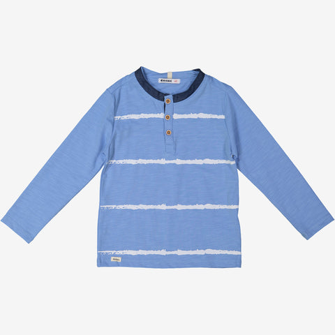 Ocean Breeze Collarless Boys Tee