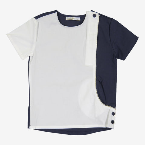 Boys Hooked Colorblock Top