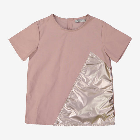 Hadas Metallic Panel Shirt