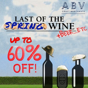 UP TO 60% OFF! Grab the last of the spring wine...and beer...and etc...