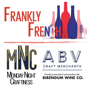 Upcoming Event - Monday Night Craftiness: Frankly French