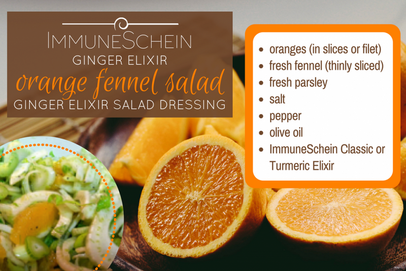 Orange fennel salad dressing, orange ginger dressing recipe