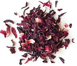 Hibiscus - Botanical Tea Loose Leaf Tea ImmuneSchein Ginger Elixirs 1 oz loose leaf tea