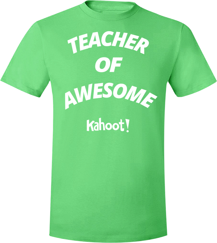 "Kahoot! ""Teacher of Awesome"" t-shirt"
