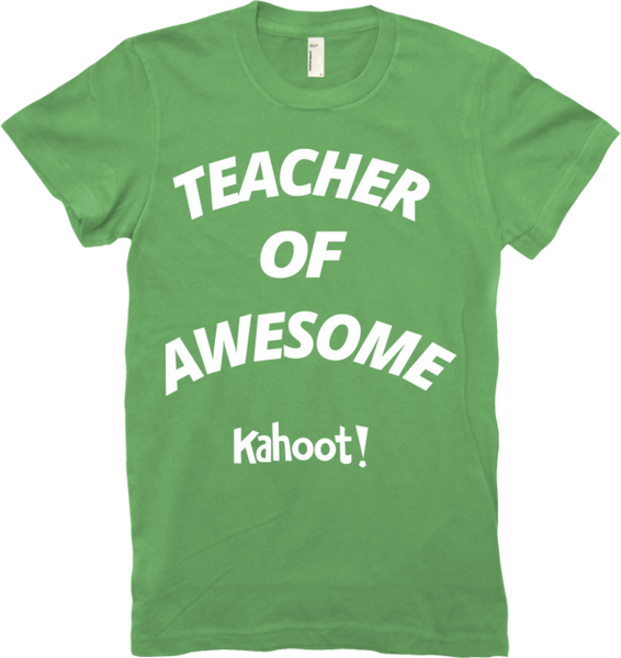 "Kahoot! ""Teacher of Awesome"" women's t-shirt"