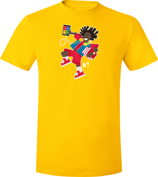 "Kahoot! ""Mal from the Curious K!rew"" t-shirt"