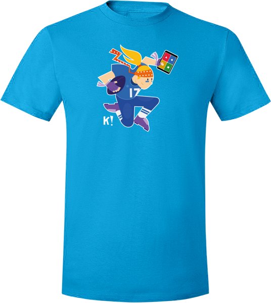 "Kahoot! ""Nancy from the Curious K!rew"" t-shirt"