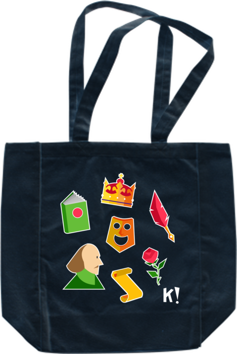 "Kahoot! ""Literature lovers"" tote bag"