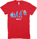 "Kahoot! ""Office evolution"" women's t-shirt"