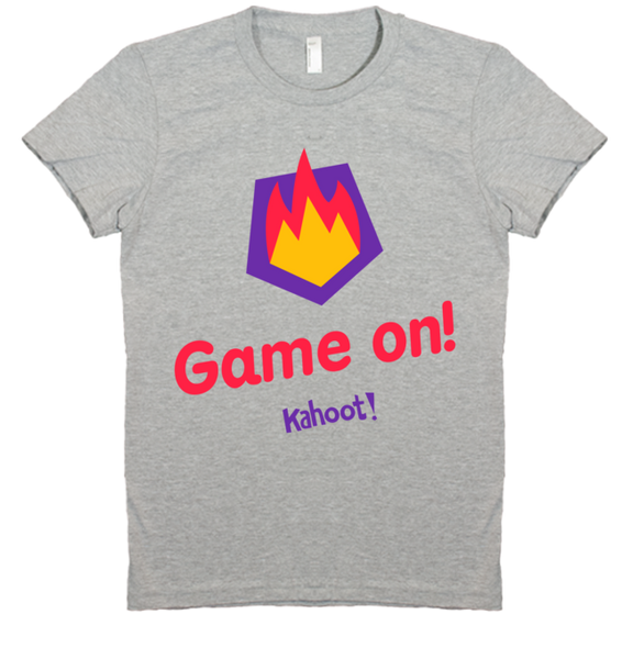 "Kahoot! ""Game on!"" women's t-shirt"