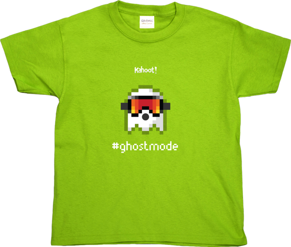 "Kahoot! ""Ghost skier"" kids' t-shirt"
