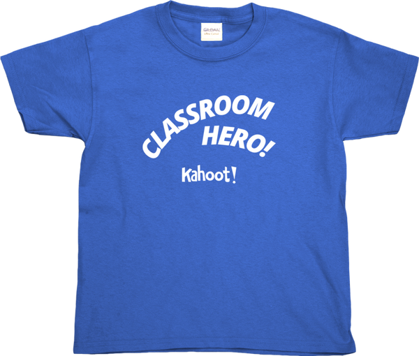"Kahoot! ""Classroom Hero!"" kids' t-shirt"