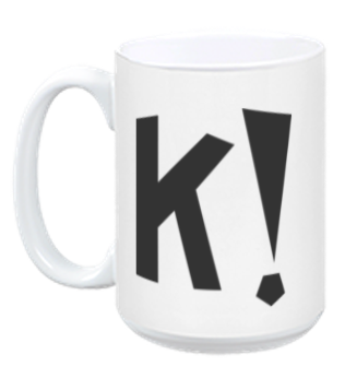 Kahoot! mug - makes your coffee taste awesome