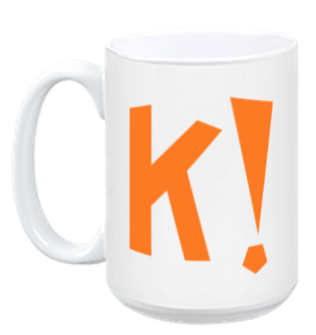 Kahoot! Coffee mug (orange)