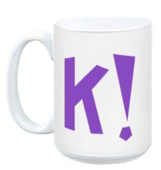 Kahoot! Coffee mug (purple)