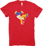 "Kahoot! ""Shima from the Curious K!rew"" women's t-shirt"