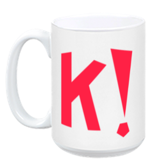 Kahoot! Coffee mug (red)