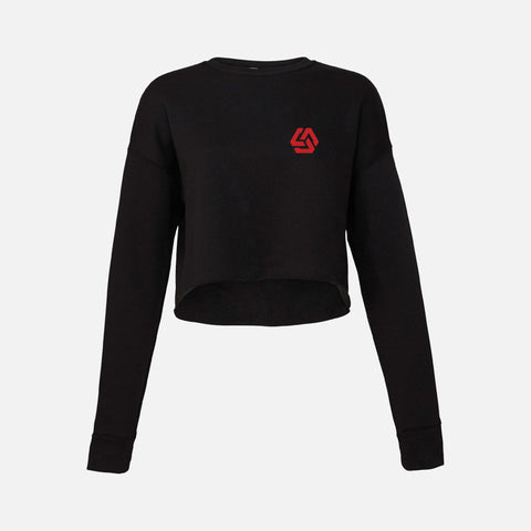 Woman's CFNI Basic Sweatshirt Crop