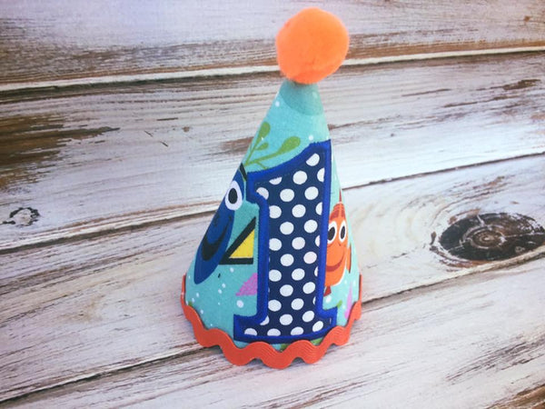 Finding Dory birthday hat, Finding Nemo birthday hat