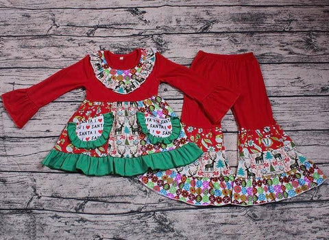 2 piece Christmas boutique outfit