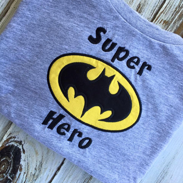 Super Hero Batman Shirt