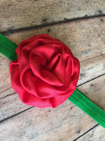 Red and Green Headband