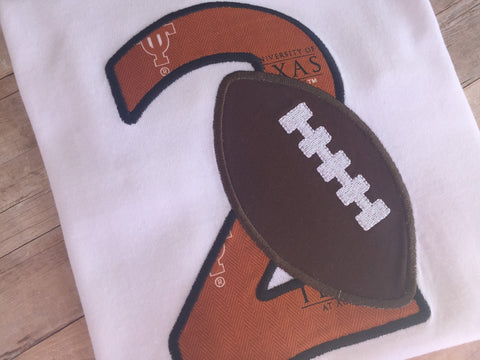 Football Birthday Number Shirt