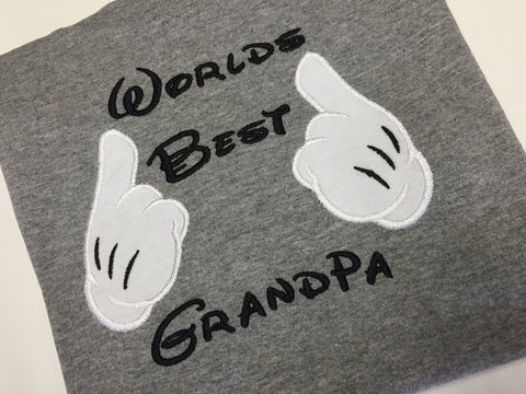 Worlds Best Grandpa shirt
