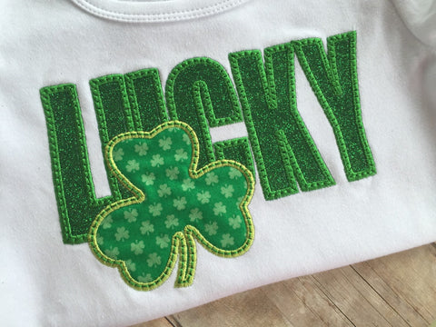 St. Patricks Day Lucky Shamrock Shirt